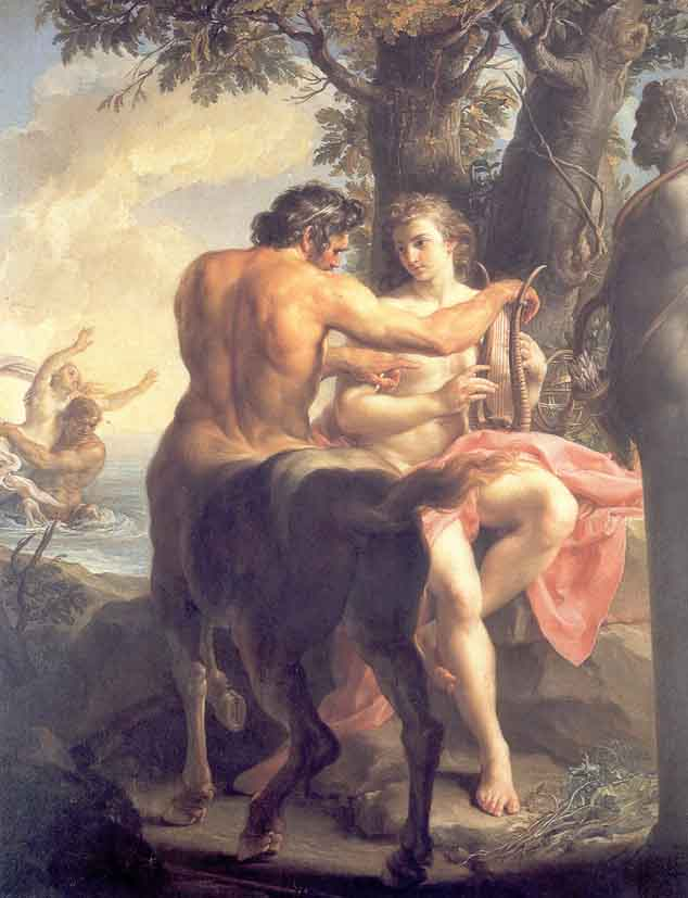 Achilles and           Chiron